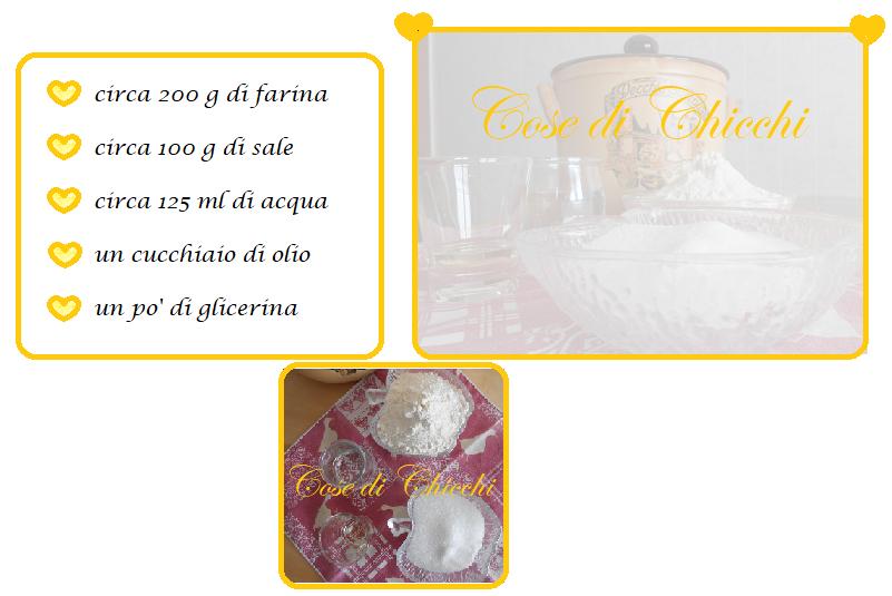 pasta al sale la ricetta di Chicchi