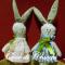 Coniglietti in tessuto